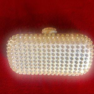 Handbags - RHINESTONE CLUTCH